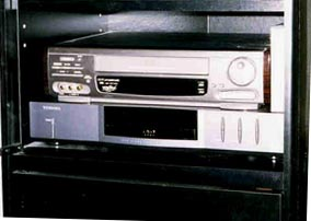 The VCR is not the correct in this picture.
